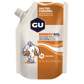 GU Energy Gel - Nutrition sport - Salted Caramel 480g